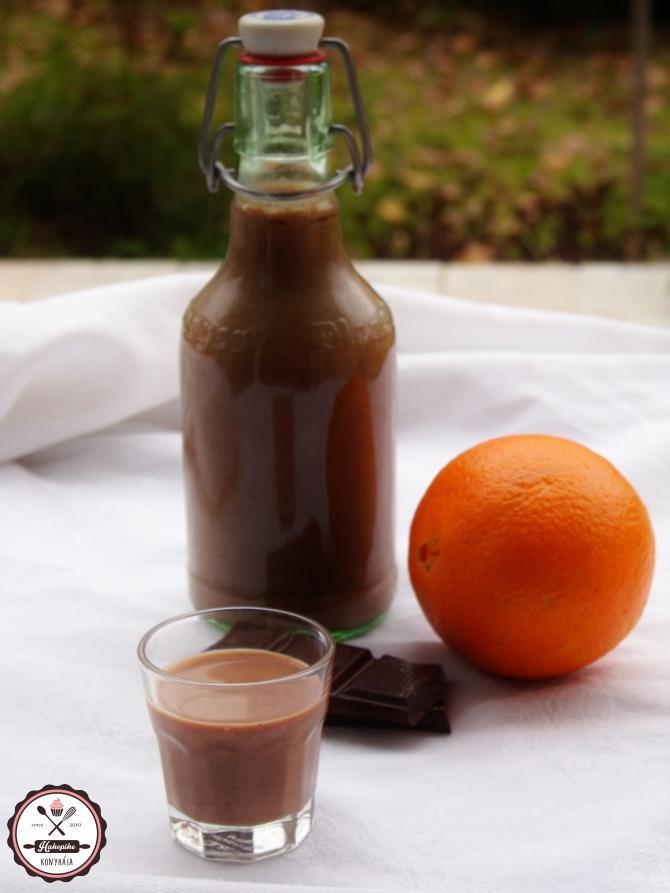 narancsos csokilikőr vodkával